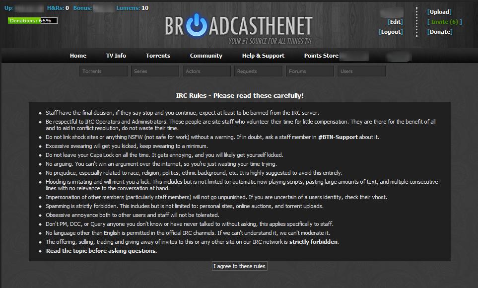 BroadcasTheNet