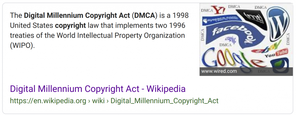 Digital Copyright Act