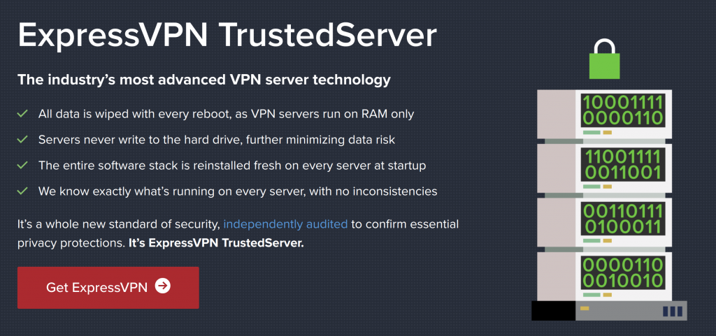 ExpressVPN Trusted Server