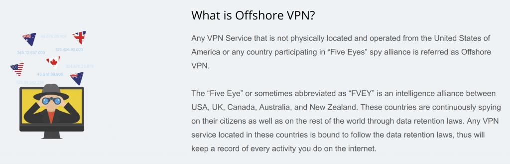 HideMe Offshore VPN