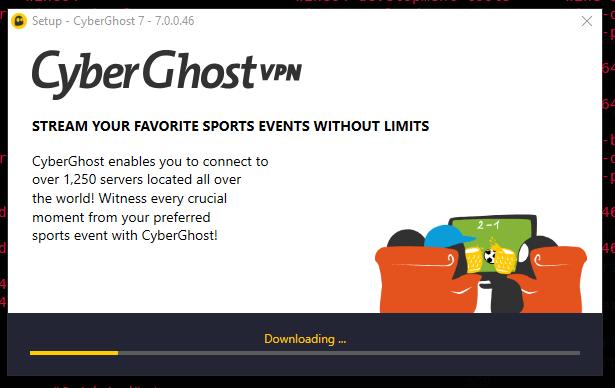 Installing Cyberghost