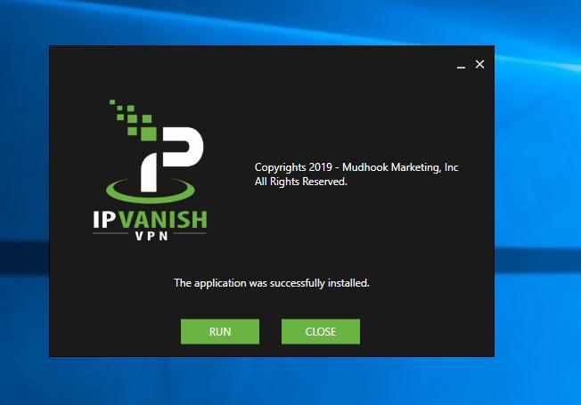 Installing IPVanish