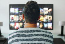Man watching Netflix