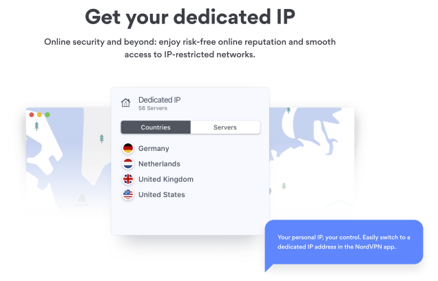 NordVPN Dedicated IP Address
