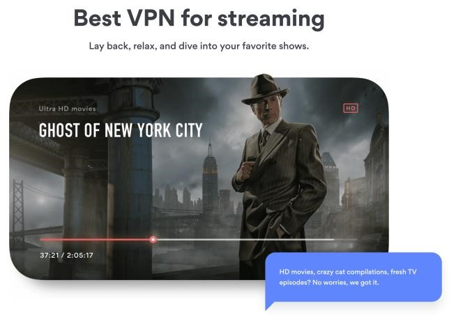 NordVPN Streaming