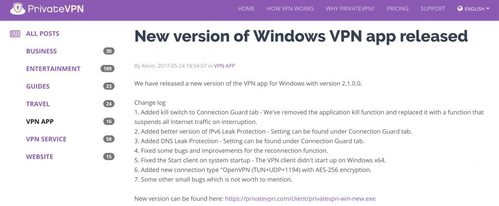 PrivateVPN App