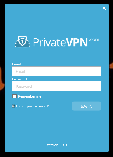 PrivateVPN Login