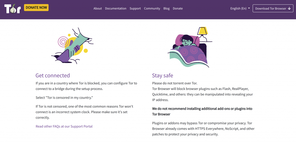 PrivateVPN Tor Compatability