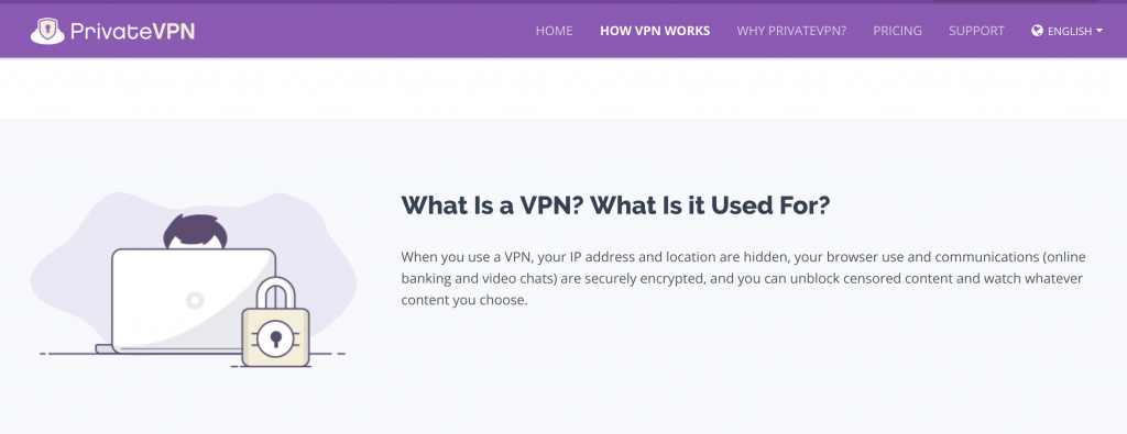 What is PrivateVPN