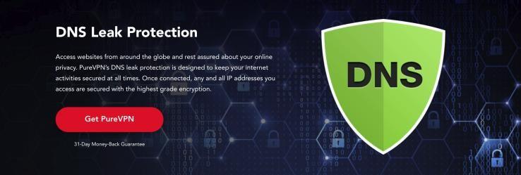 PureVPN DNS Leak Protection