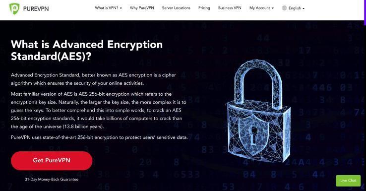 PureVPN Encryption