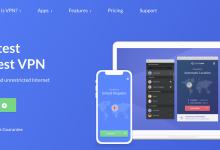 SaferVPN Homepage