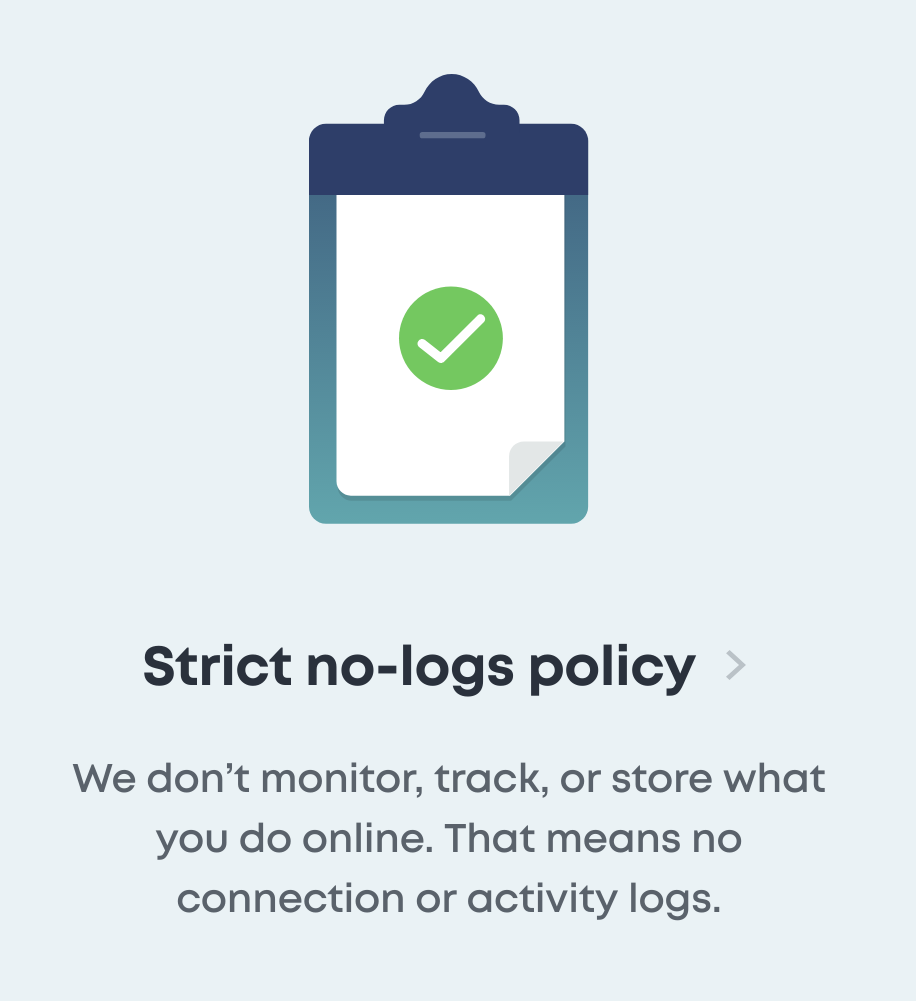 Surfshark No logs policy