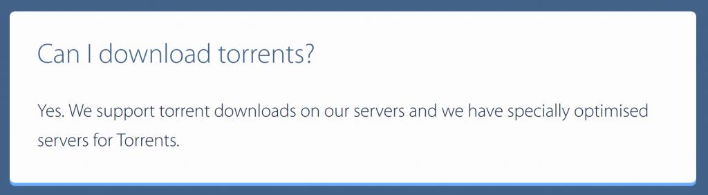 VPNArea Torrents