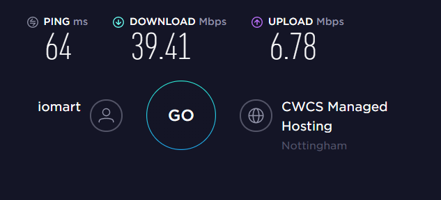 PrivateVPN UK Server Speed