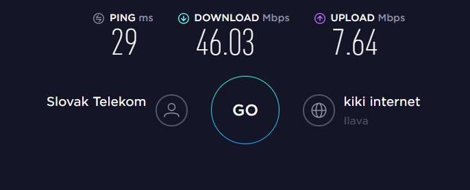 PureVPN No VPN Speed