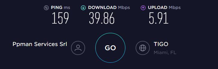 Surfshark US Server Speed