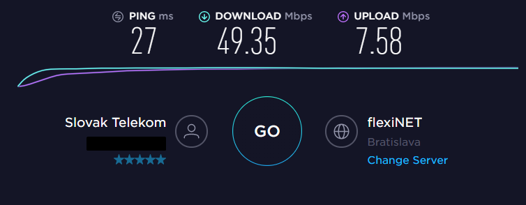 VPNArea No VPN Speed