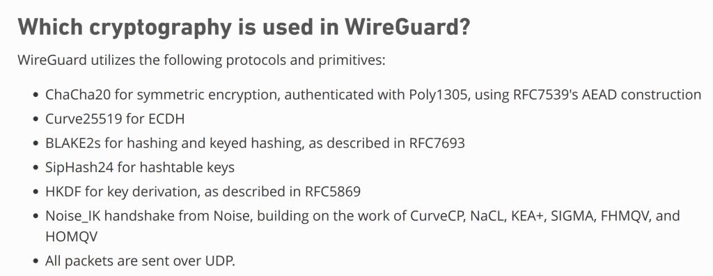 Wireguard Encryption
