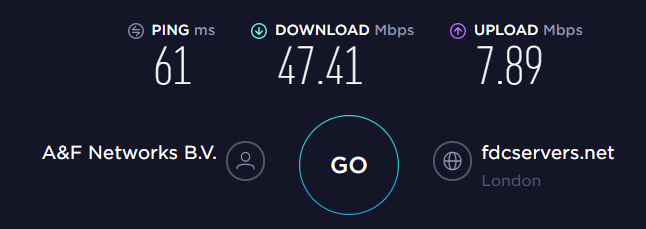 HotSpot Shield UK Server Speed