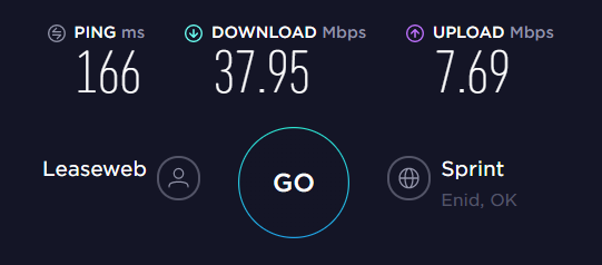 HotSpot Shield US Server Speed