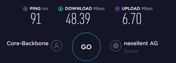 Perfect Privacy UK Server Speed