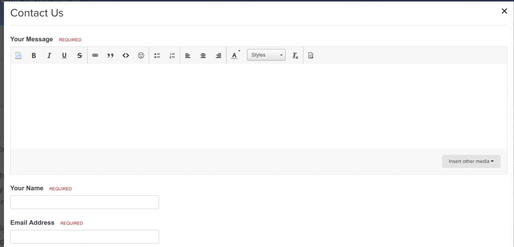 AirVPN Contact Form