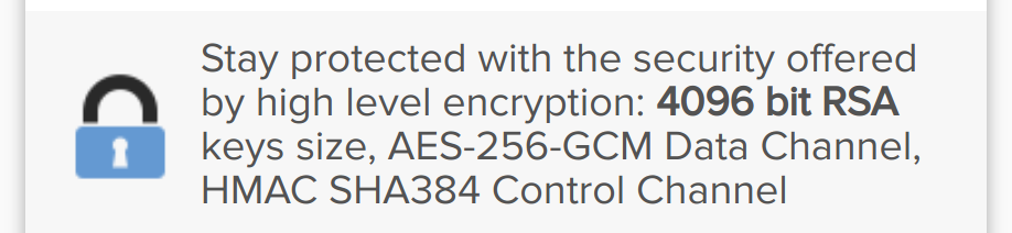 AirVPN Military Grade Encryption
