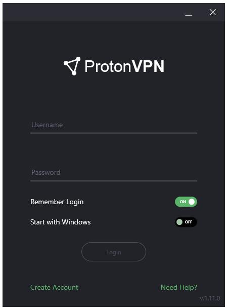 ProtonVPN Log In