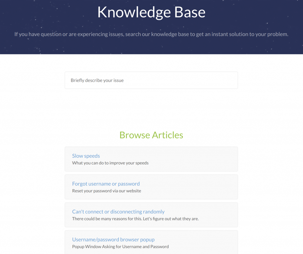 Windscribe Knowledge Base