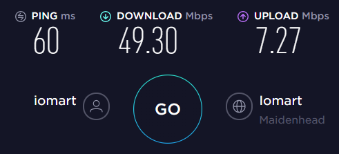 Windscribe UK Server Speed