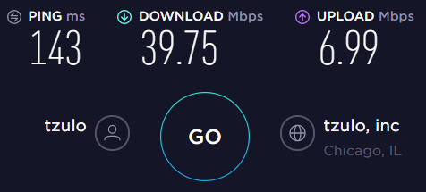Windscribe US Server Speed