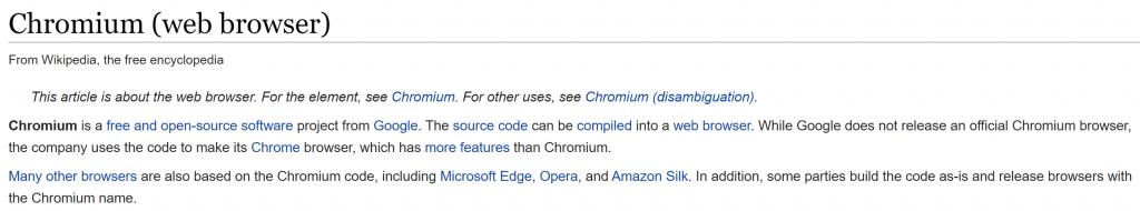 Chronium