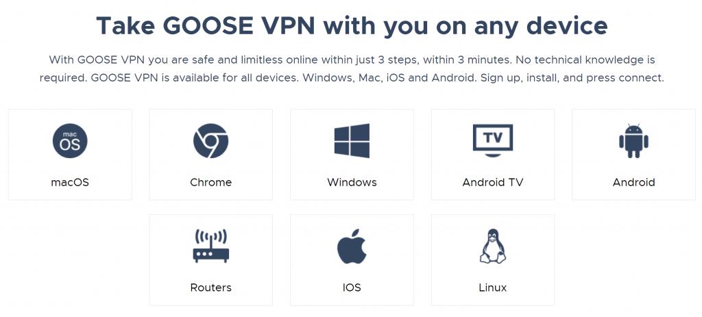 Goose VPN Device Compatibility-min