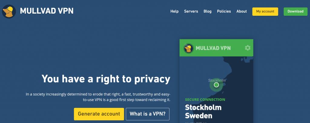 Mullvad VPN