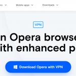Opera VPN Homepage