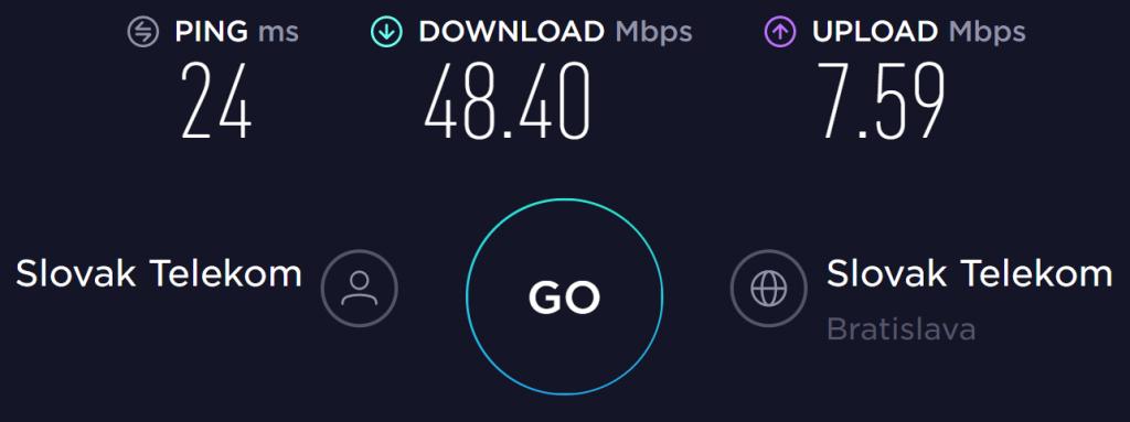 PIA No VPN Speed