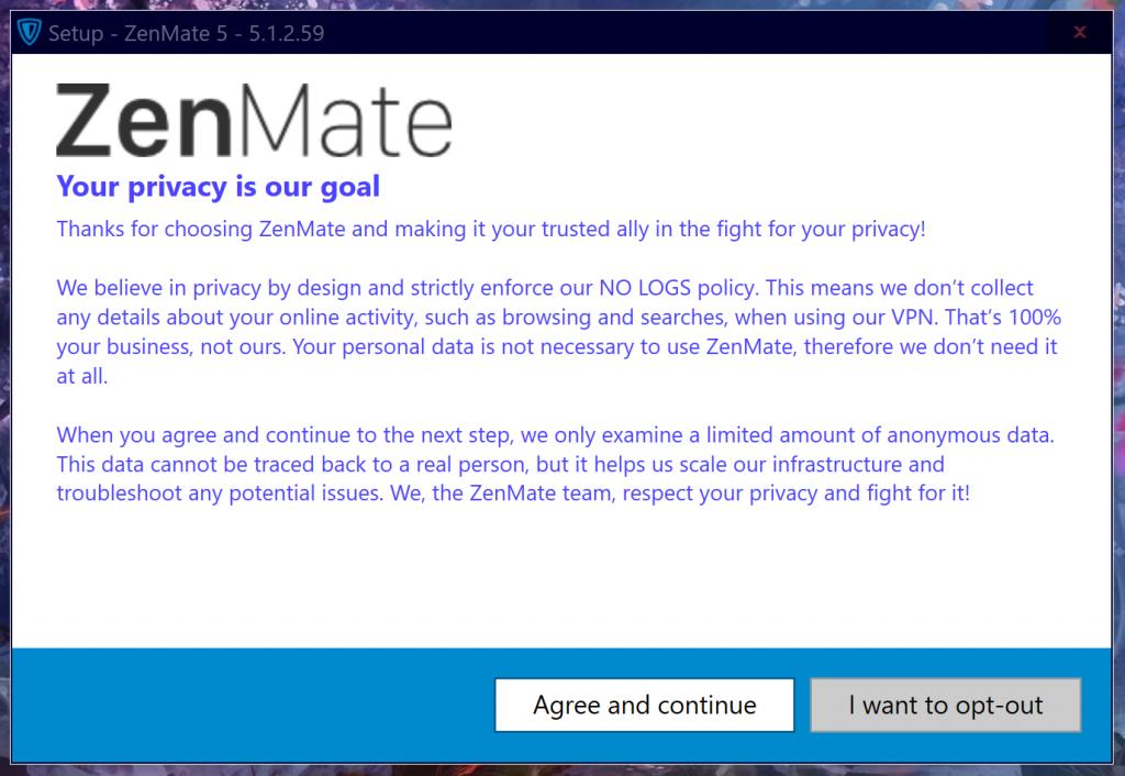 Privacy ZenMate