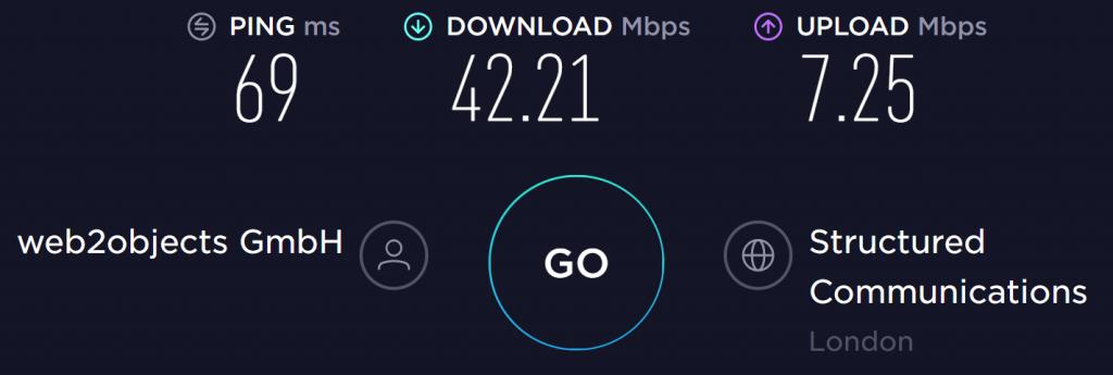 VPNhub UK Server