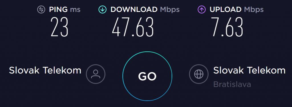 VPNhub no VPN speed