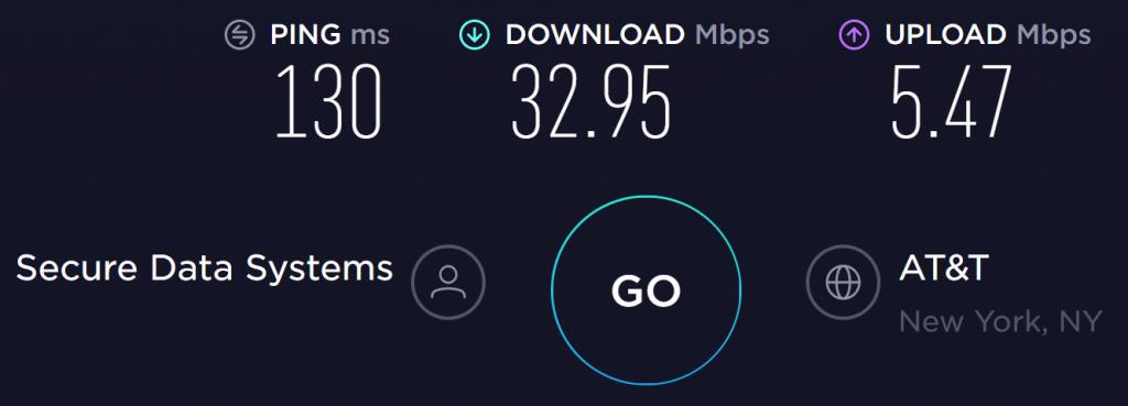 ZenMate US Server Speed