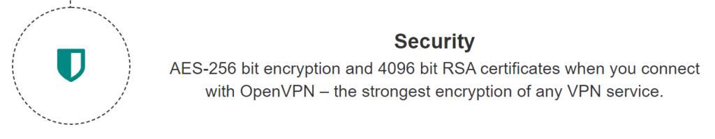 blackVPN Encryption