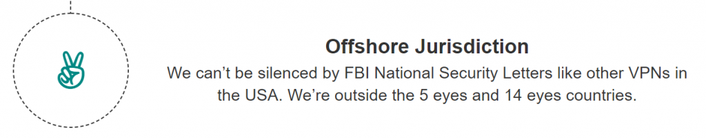blackVPN Offshore Jurisdiction