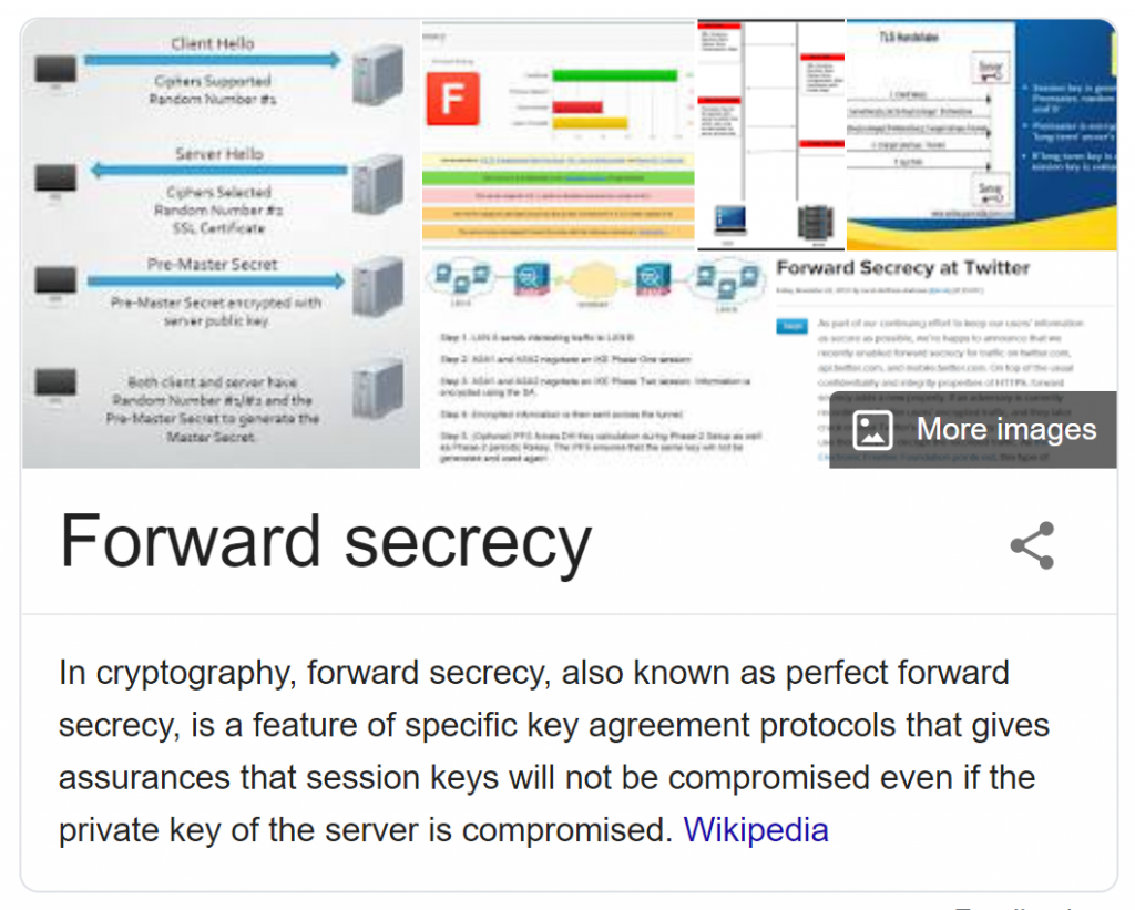 Forward Secrecy