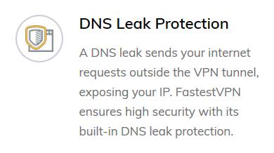 FastestVPN DNS Leak