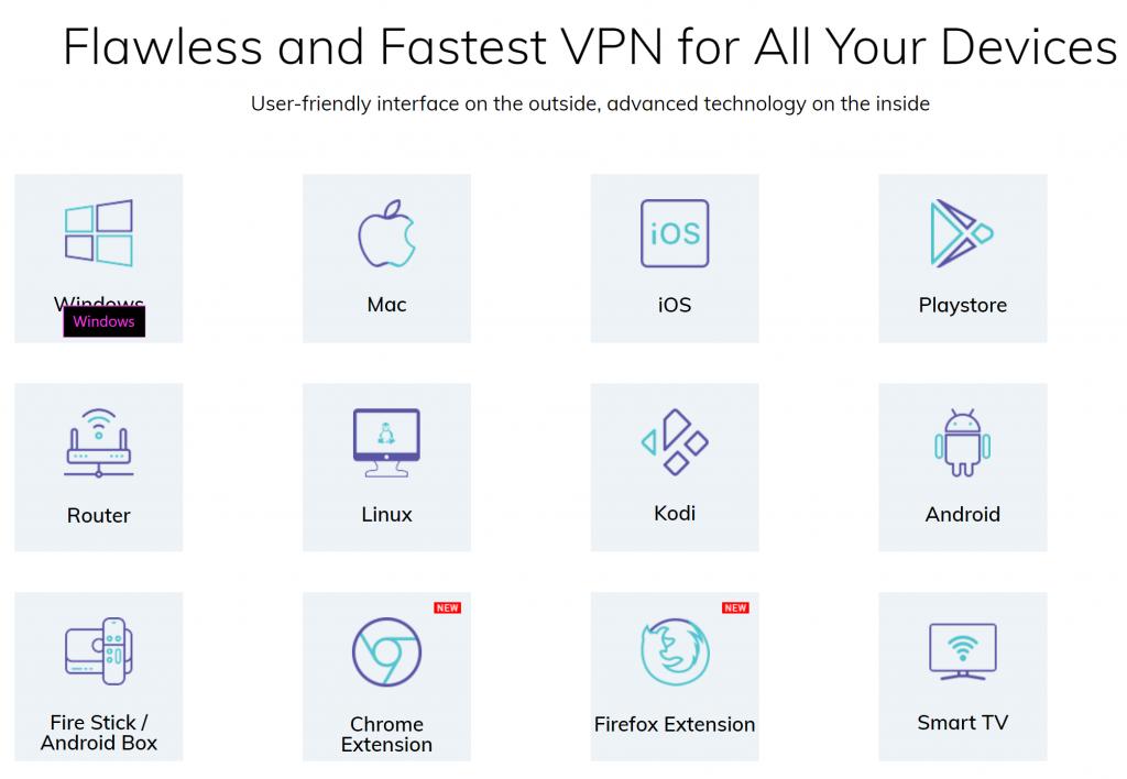 FastestVPN Devices
