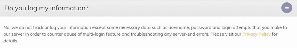 FastestVPN Privacy Policy 3