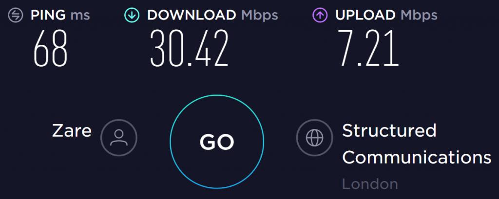 FastestVPN UK Server