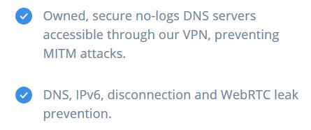 IVPN DNS Leak
