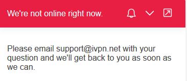 IVPN Support